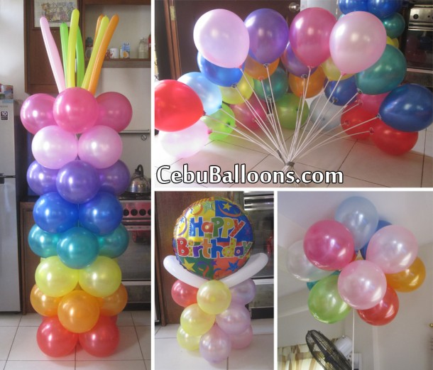 Colorful Balloon Decoration for a Manager's Birthday