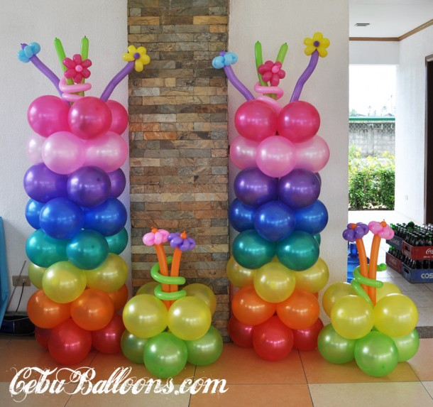 Colorful Balloons for Candy Crush Theme at Mactan Tropics