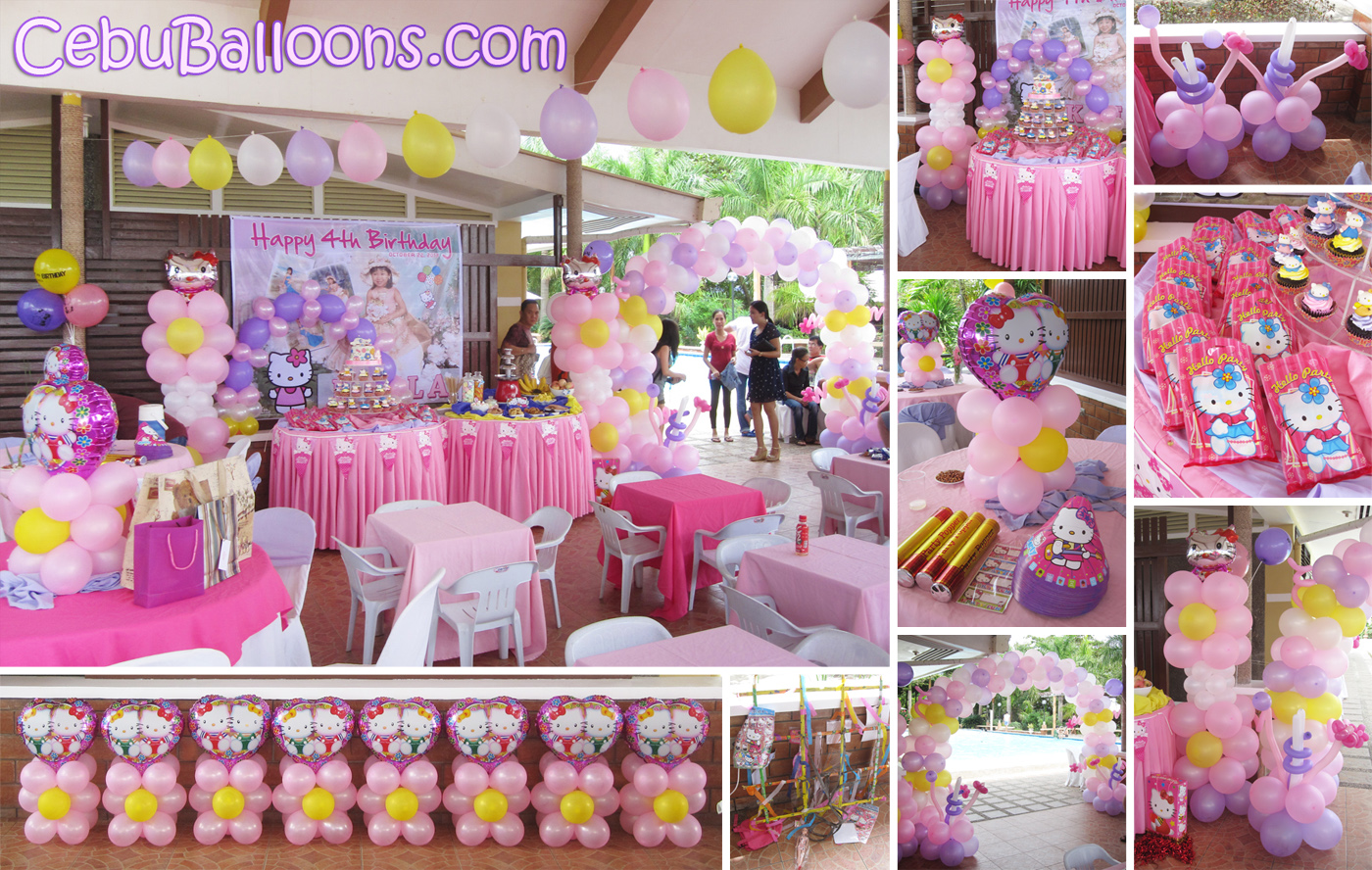 Combo package decor entertainer party at gallego for 1st birthday decoration packages