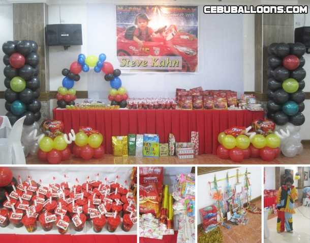 Composite -Lightning McQueen Decoration & Kiddie Package at Maria Lina Building