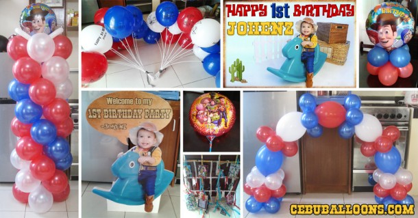 Cowboy (Woody of Toy Story) Birthday Package