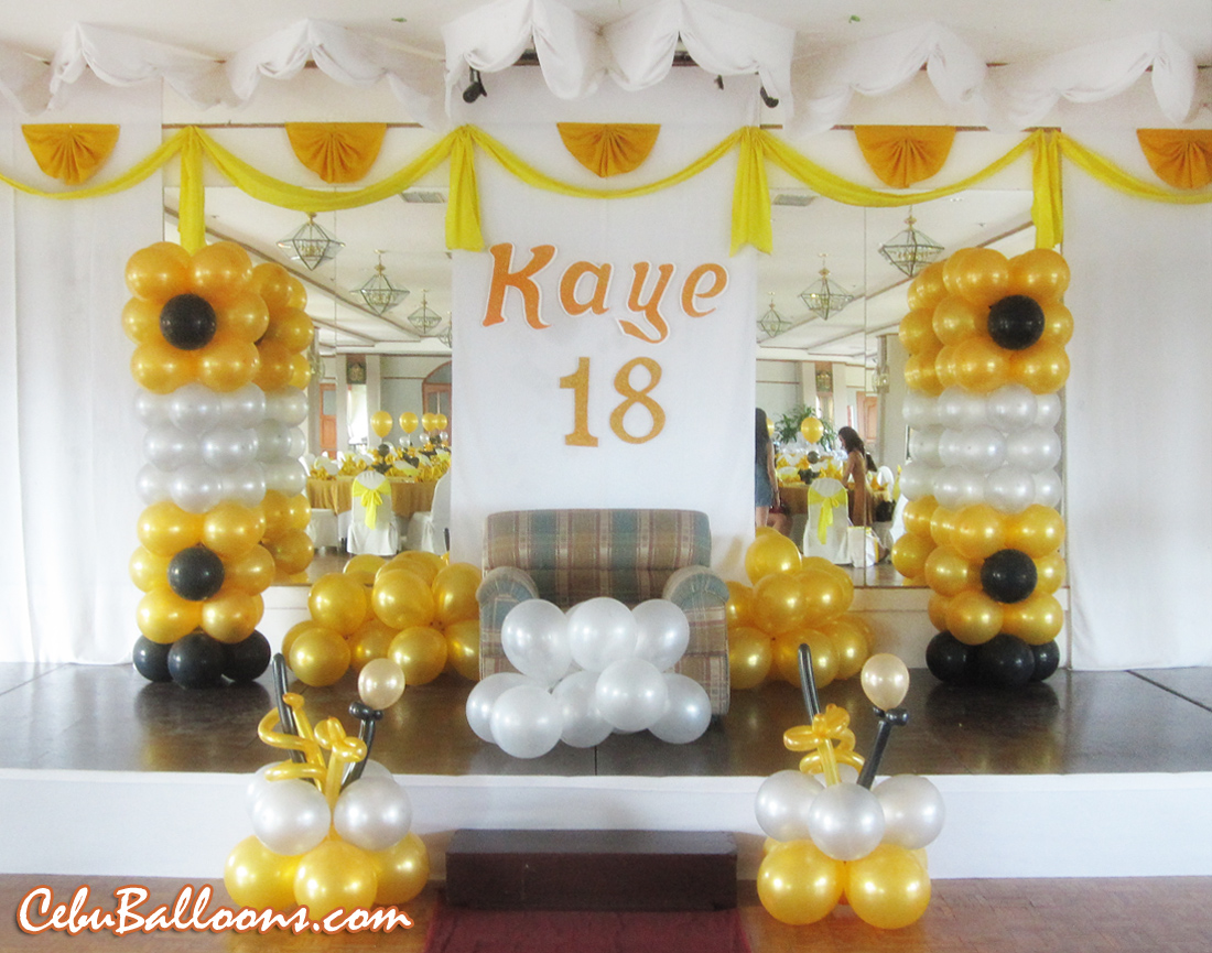 Debut Decoration Package At Cityscape Hotel Cebu