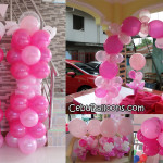 Decoration Package for a Girl's Christening at Liloan