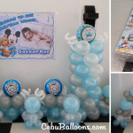 Decors and Giveaways for the Christening of Saedan Raz