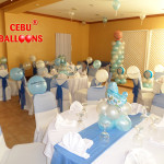 Decors for a Boy's Christening Celebration at Crown Regency Mactan (Multi-purpose Hall)