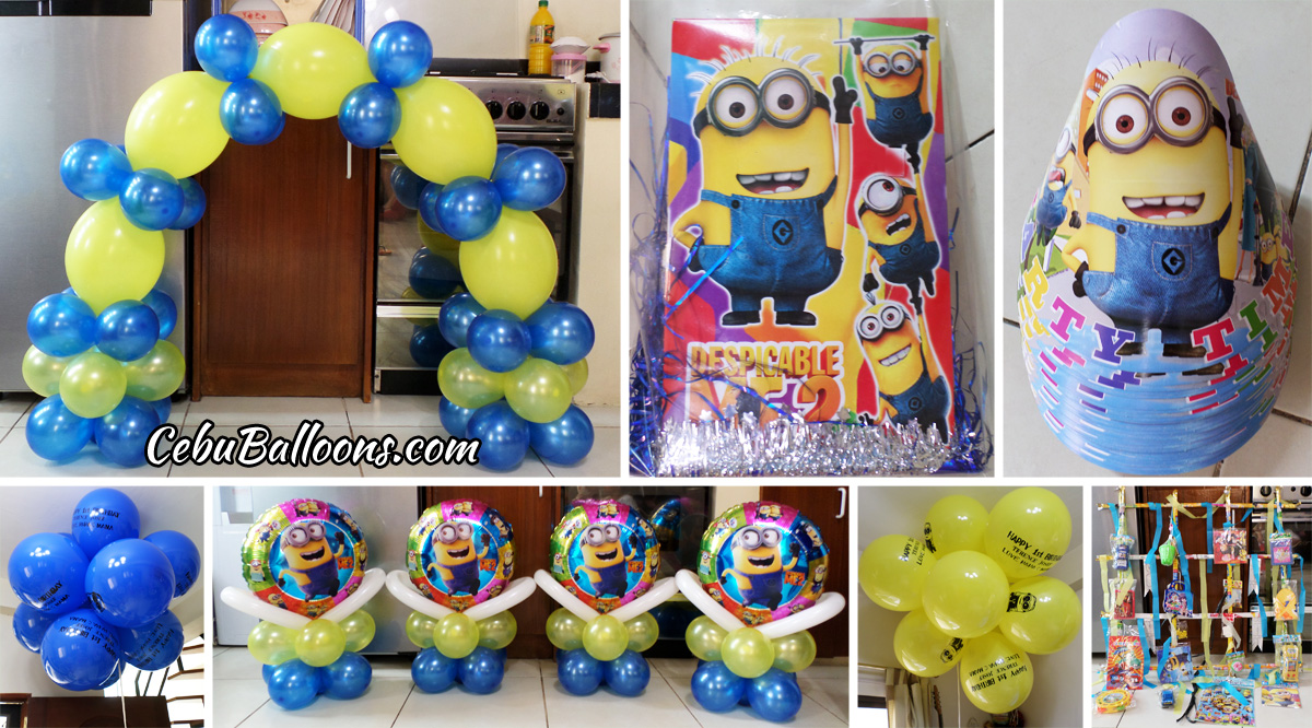 Despicable Me Balloon Decors Party Supplies At Lower Hermag