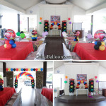 Disney Cars Balloon Decoration and Party Package at Maryville Subdivision Clubhouse