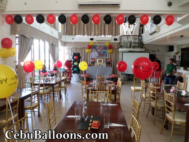 Cars lightning mcqueen cebu balloons and party supplies for Hotel decor suppliers