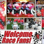 Disney Cars Balloons & Party Supplies at Villa Asela Garden Resort