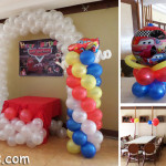 Disney Cars Theme Balloon Decoration Package at Sugbahan Restaurant