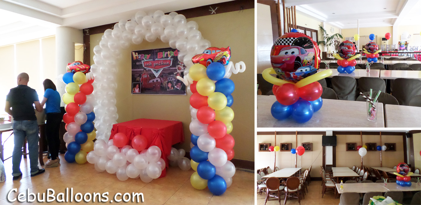 Cars lightning mcqueen cebu balloons and party supplies