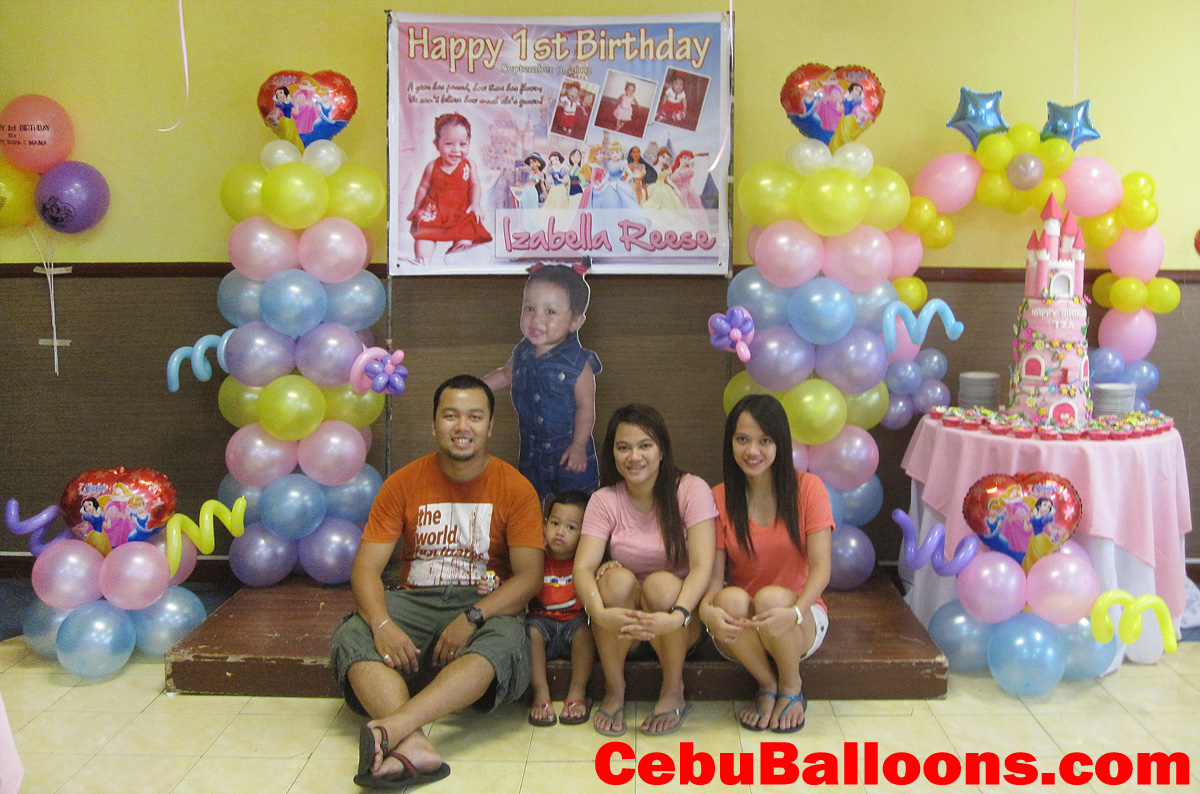Party balloons decorations - Disney Princess Balloon Decoration Package At Hannah S Party Place
