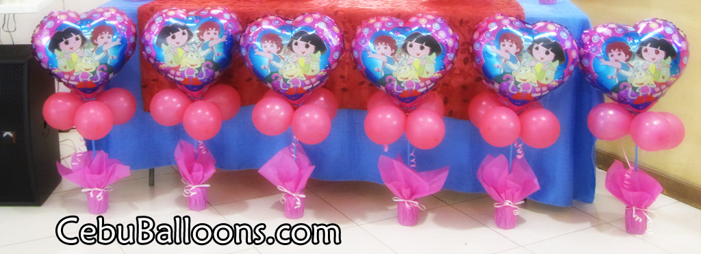 Dora Birthday Table Centerpieces Image Inspiration of Cake and