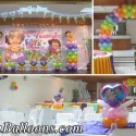 Dora the Explorer Balloon Decoration at Sacred Heart Center