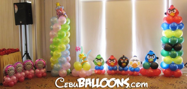 Double Celebration (Christening & Angry Birds)