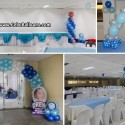 Drew's Christening Decor Package at Pedro Calungsod SRP Function Hall