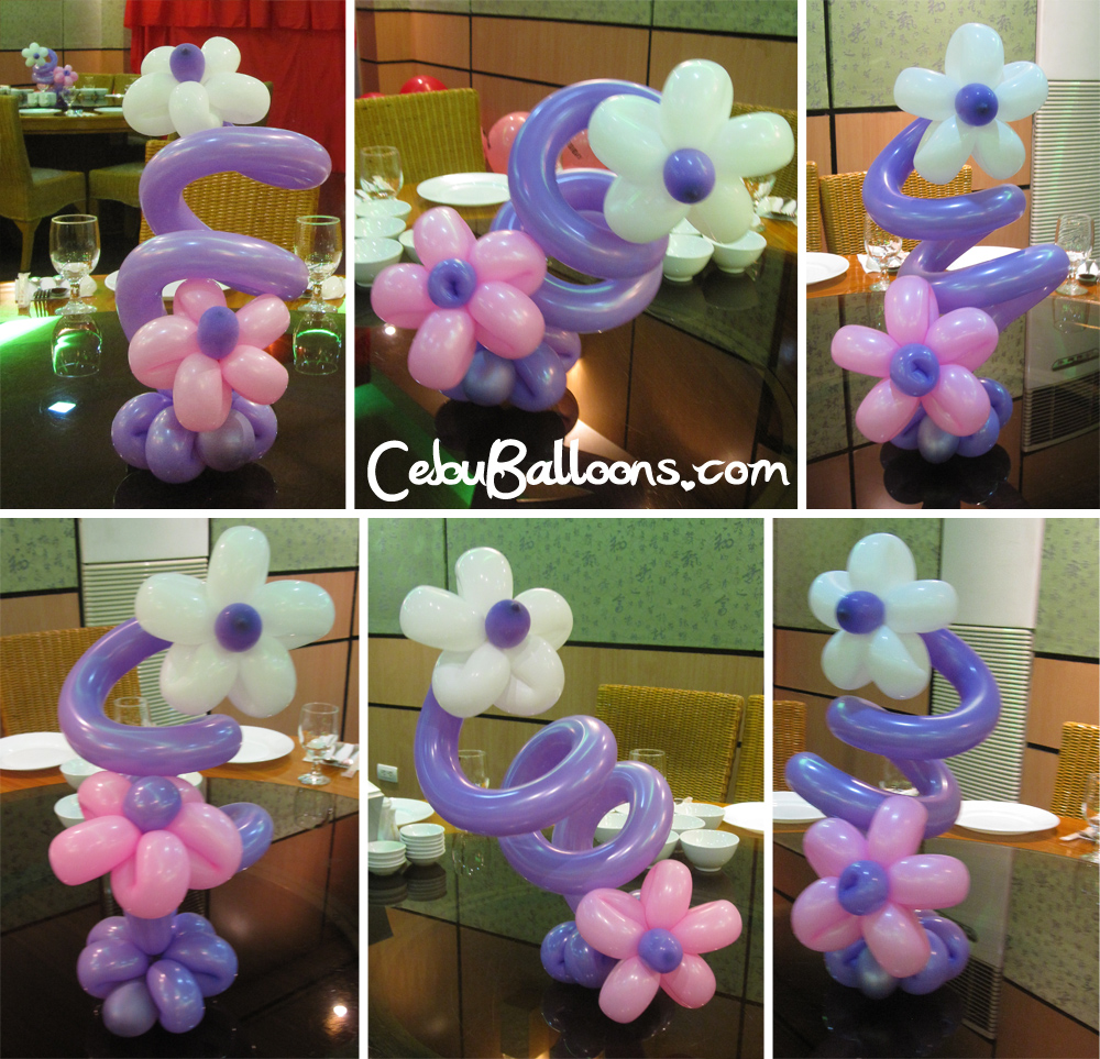 Pink purple cebu balloons and party supplies