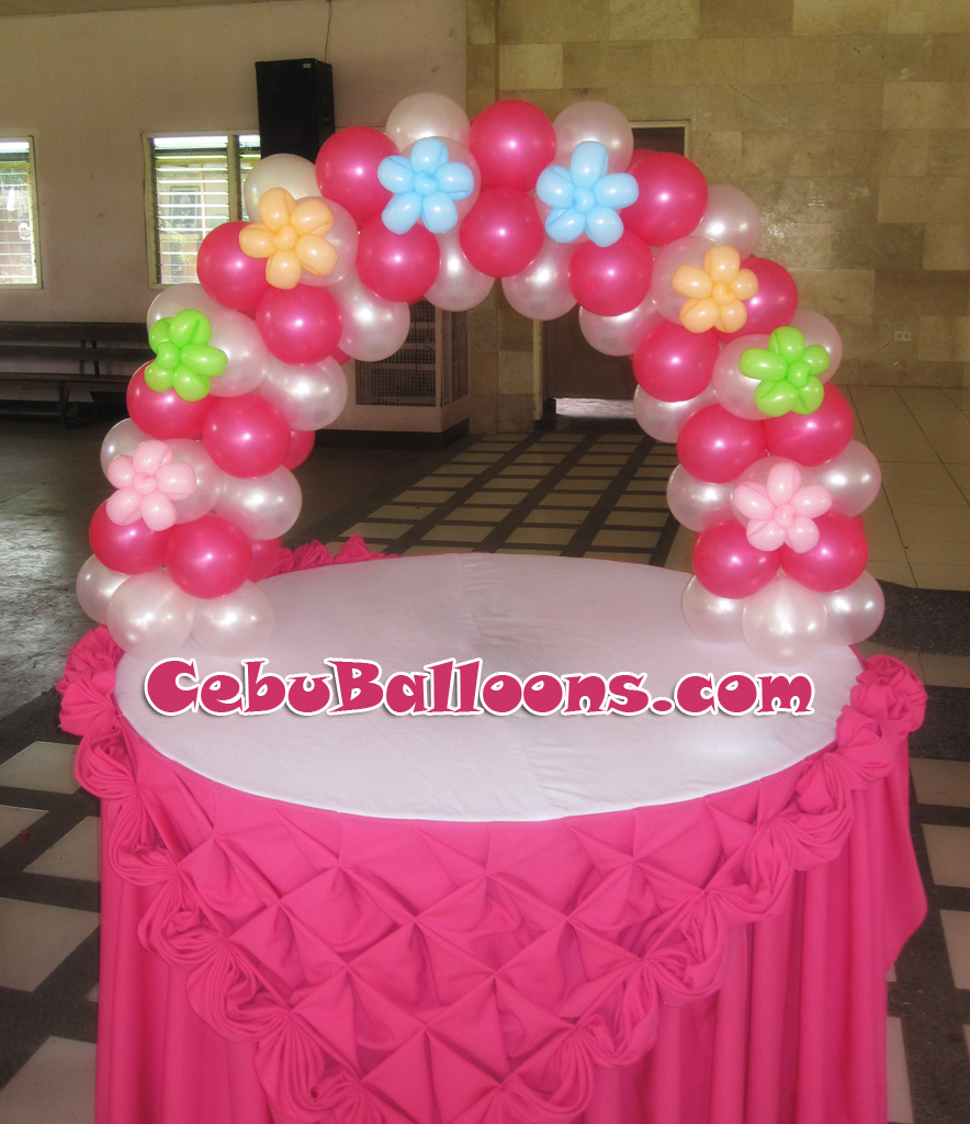 Fondant Cake Ball Design : Christening (Girl) Cebu Balloons and Party Supplies