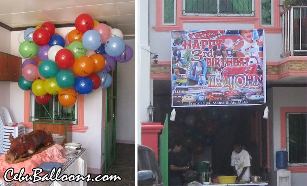 Flying Balloons at DCP Homes Pagsabungan