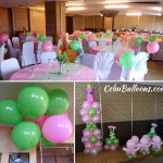 Girl Christening Decors at Crown Regency Mactan (Ballroom B)