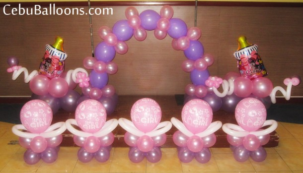 Girl Christening (Pink & Purple)