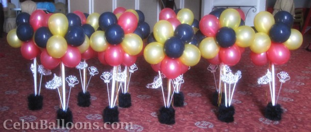 Grand Majestic Centerpieces with Crown & Wand