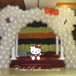 Hello Kitty Balloon Arch at Allure Hotel & Suites