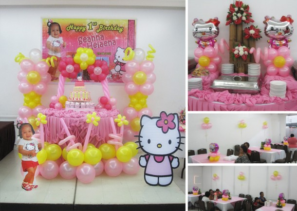 Hello Kitty Balloon Decor at SM Conference Hall