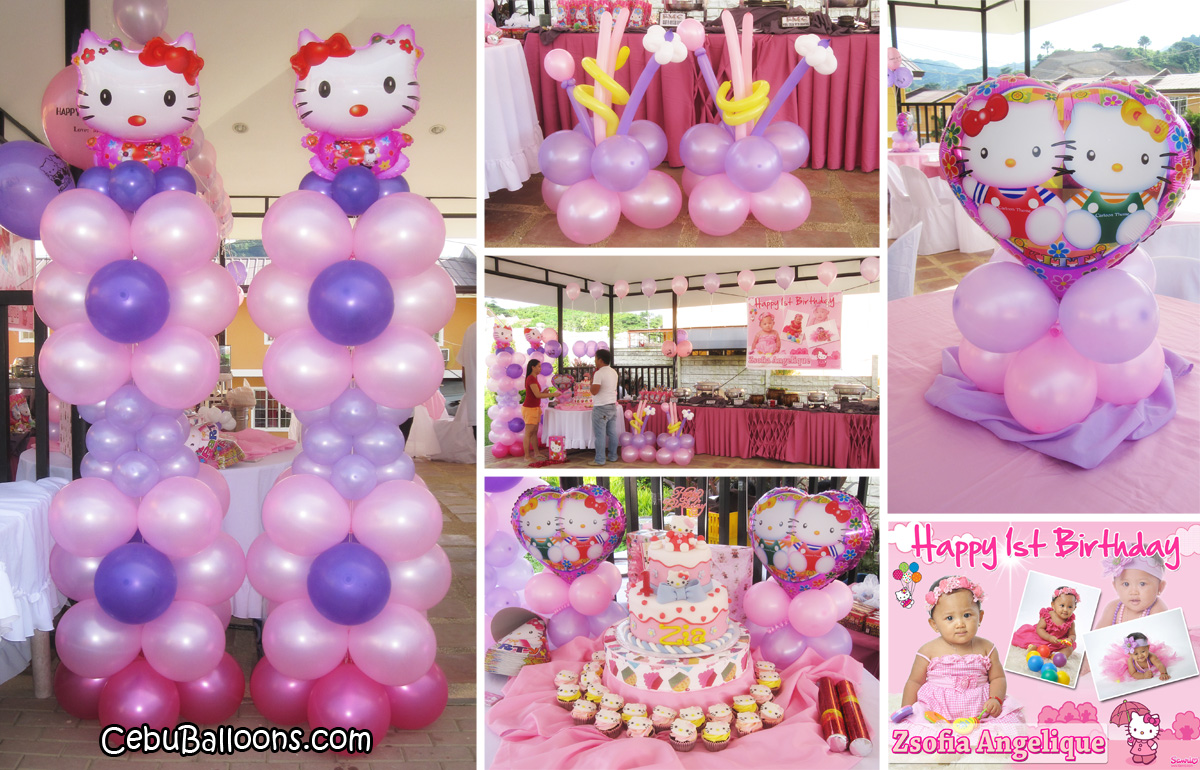 Combo party decoration entertainer packages cebu for Balloon decoration packages