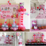 Hello Kitty Balloon Decoration, Party Supplies & Giveaways at Laguna Garden Cafe