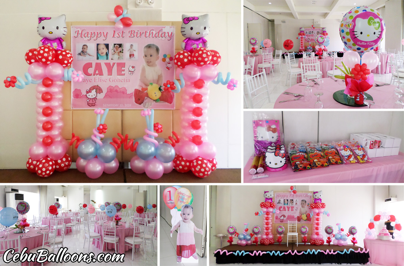 hello kitty party decoration ideas elitflat. Black Bedroom Furniture Sets. Home Design Ideas