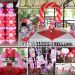 Hello Kitty Balloon Decoration with Pabitin at Orosia Food Park