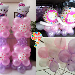 Hello Kitty Balloon Decors for a Residence in AS Fortuna