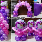Hello Kitty Balloons for Compostela, Cebu