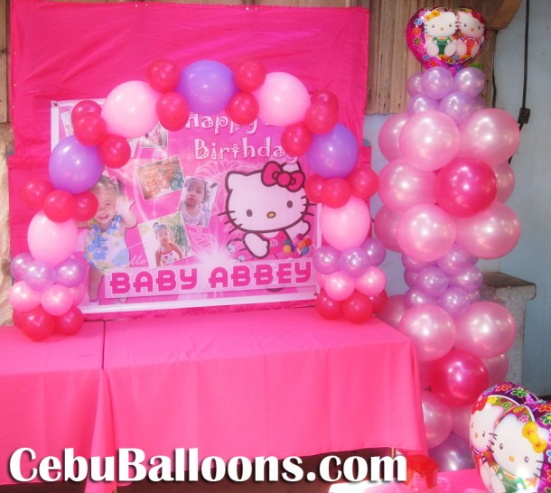 Hello Kitty Birthday Party at Honeyhomes Village