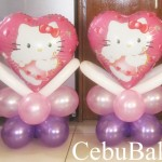 Hello Kitty Centerpieces (Pink & Purple)