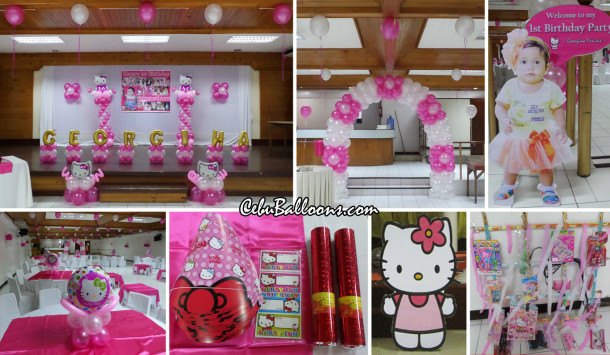 Hello kitty cebu balloons and party supplies - Images of kiddies decorated room ...