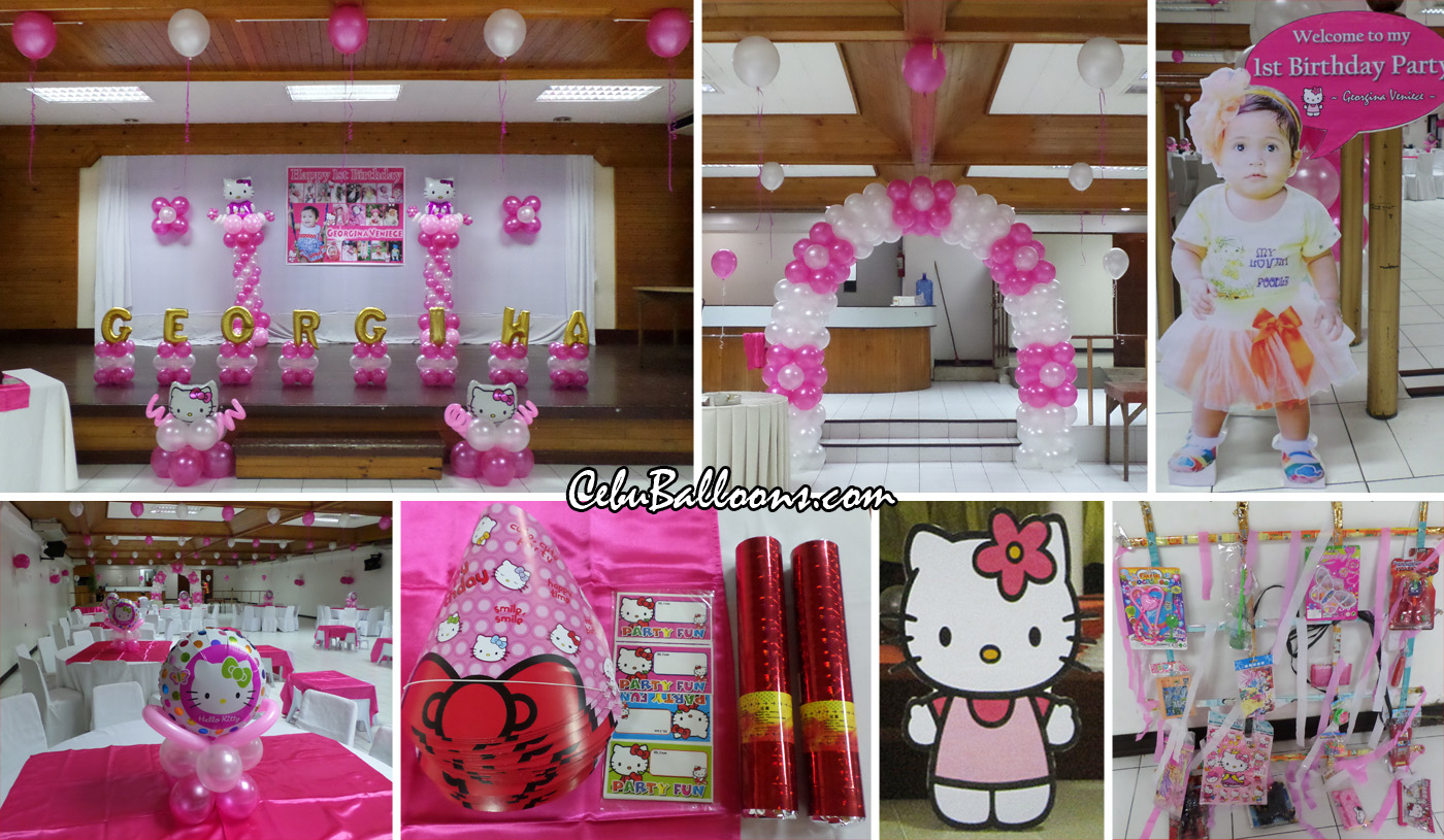 Sacred heart center cebu balloons and party supplies - Images of kiddies decorated room ...