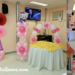 Hello Kitty Decoration Package for AA's Birthday at AA's Barbecue Mandaue
