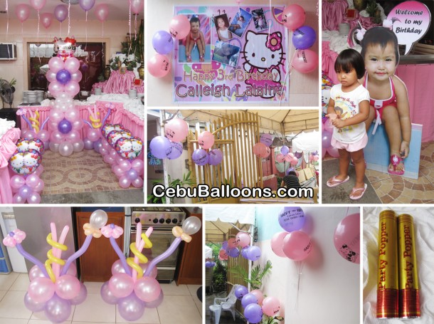 Hello Kitty Decoration and Party Package at Springwood, Minglanilla