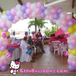 Hello Kitty Entrance Arch at Gallego Private Resort