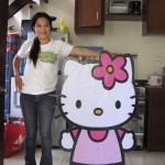 Hello Kitty Styro Standee