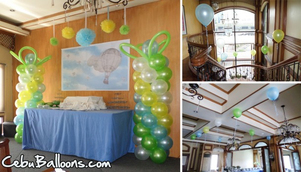 Hot-air Balloon Birthday Theme at Pino Restaurant