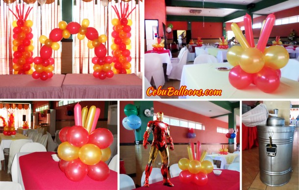 Ironman Sulit Decor B with Ice Cream at Hannah's Jakosalem