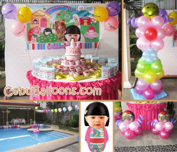Kimmidoll Decor Package at Metro Park Hotel