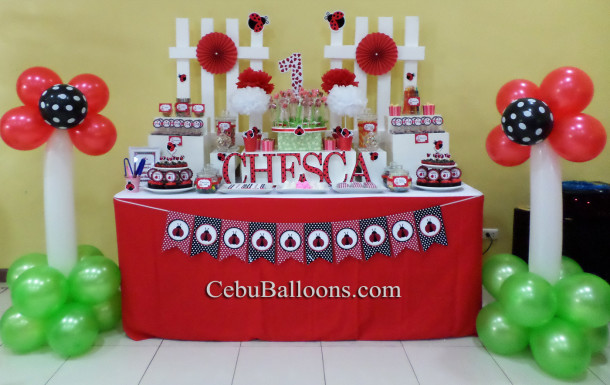 Ladybug Dessert Buffet Package at Playmaze Parkmall Mandaue