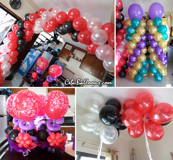 Ladybug Theme Balloon Decoration at Paradise Events Pavillion
