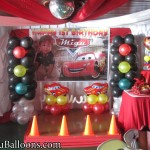 Lightning McQueen Decoration at Royal Concourse