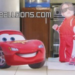 Lightning McQueen and Enzo's Standee
