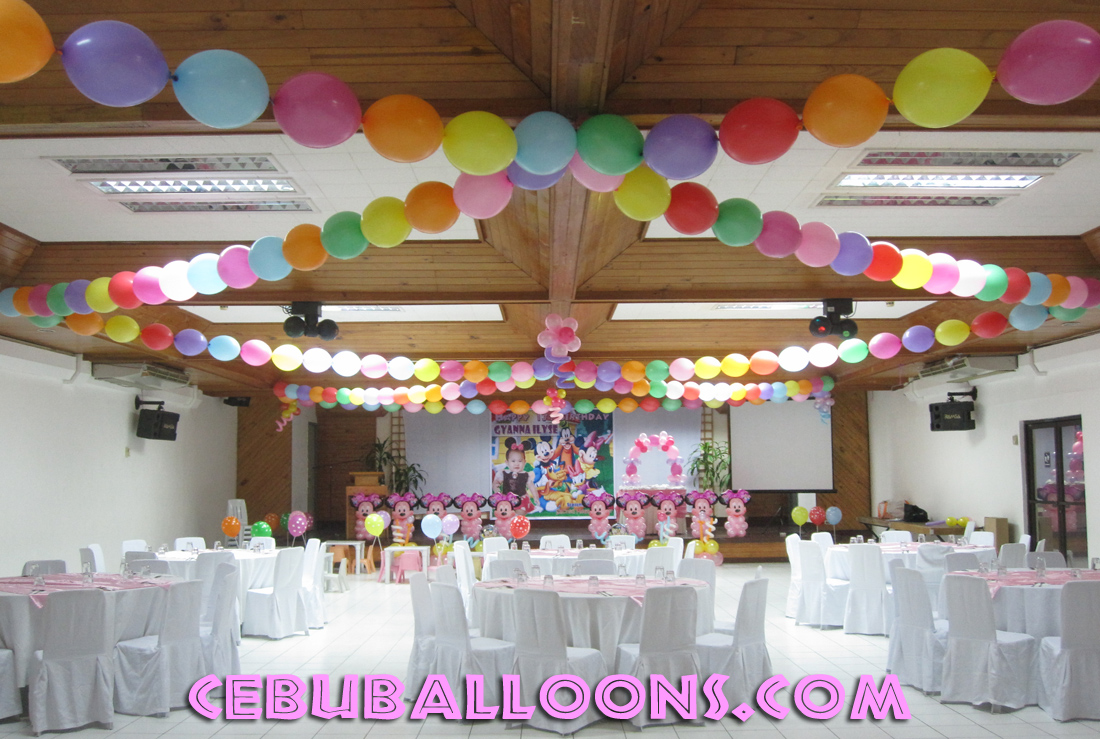 Minnie Mouse Theme Birthday Party Decoration At Sacred